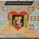 Postkaarten: postzegeltaal of geheimtaal met postzegels!
