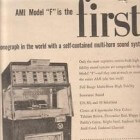 De AMI E, AMI F en AMI G jukebox