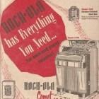De Rock-Ola 1438 en 1448 Comet Fireball jukebox