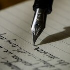 De kunst van de kalligrafie