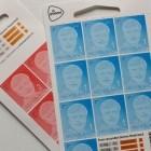De postzegels van 2016, het eerste halve jaar