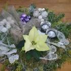 Kerst met een klein budget: Zelf een kerststukje maken