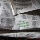 Hoe maak je papier-maché - papierpulp