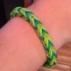 WK 2014: Maak een Nederlandse vlag loom band armband
