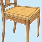 Wat heb ik nodig bij het stofferen van een oude stoel?