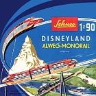 Schuco Disneyland Alweg Monorail, magnifiek collectors item