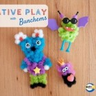 Bunchems, kleurrijk en zelfklevend speelgoed voor kinderen