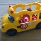 Little People schoolbus van Fisher-Price