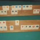 Rummikub - Gezelschapsspel met stenen, cijfers en jokers