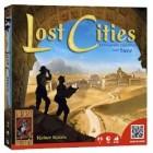 Lost Cities bordspel: expedities uitvoeren met twee spelers