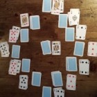 Een leuk kaartspel: Klok-patience