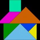 Een uitdagend spel zelf maken en spelen: tangram